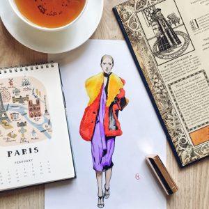 آموزش طراحی لباس