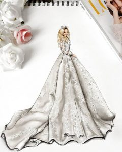 طراحی لباس عروس 2020