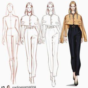 تفاوت خیاطی با طراحی لباس