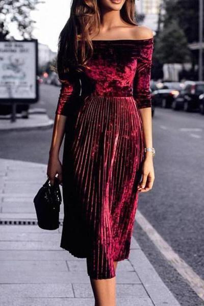 طراحی لباس با مخمل