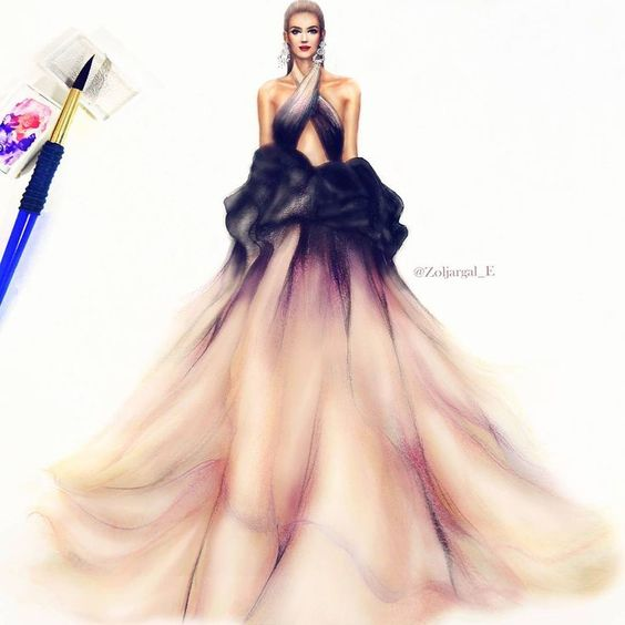 طراحی لباس با گواش