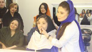 ثبت نام دوره آرایشگری در تهران