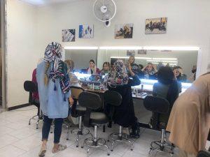 کلاس آرایشگری زنانه در تهران
