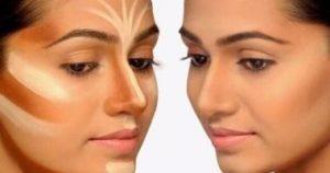 آموزش آرایش و میکاپ بینی