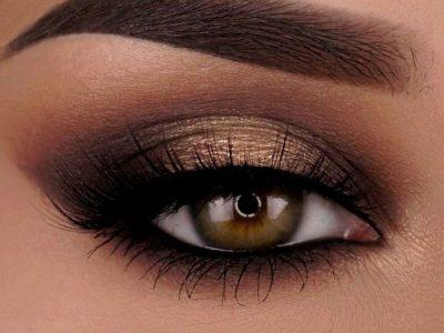 آموزش آرایش چشم قهوهای