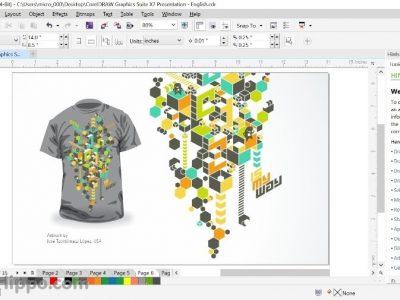 آموزش آسان corel برای طراحی لباس
