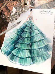 طراحی لباس شیک
