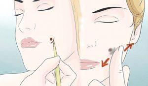 آموزش چال گونه با آرایش و میکاپ