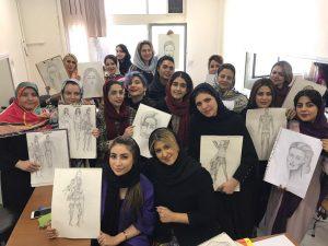آموزش طراحی لباس تخصصی در غرب تهران