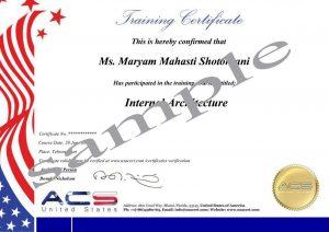 گواهینامه ACS آمریکا
