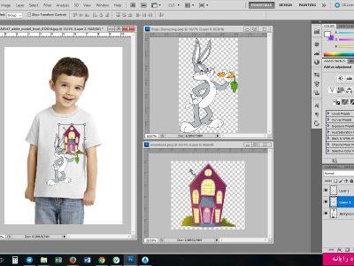 آموزش طراحی لباس با photoshop