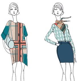 آموزش آسان کشیدن فیگور در طراحی لباس