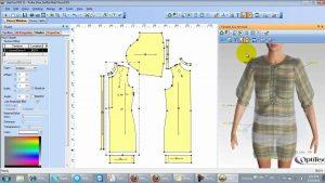 آموزش کاربردی نرمافزار طراحی لباس Optitex
