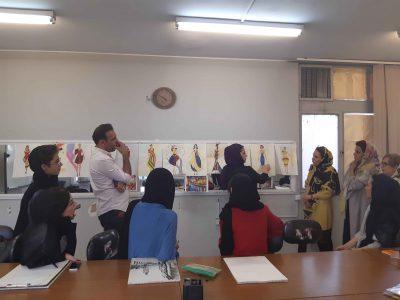 آموزش طراحی لباس در سعادت آباد