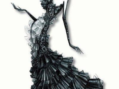 نکات طلایی برای استفاده از گواش در طراحی لباس