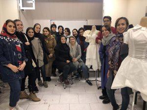 کلاس های طراحی لباس در تهران
