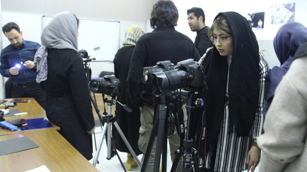 کلاس های عکاسی در غرب تهران