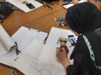 کلاس طراحی لباس تهران