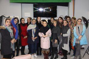 کلاس آرایشگری زنانه