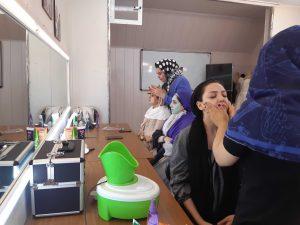 آموزش آرایشگری بانوان