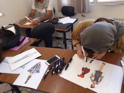 آموزش طراحی لباس گام به گام
