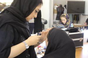 کلاس تحصصی آرایشگری